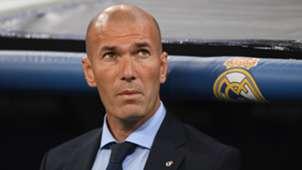 Zinedine Zidane Real Madrid APOEL Champions League 13092017
