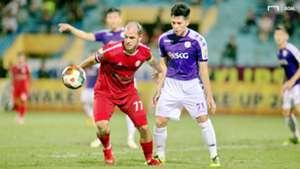 Huynh Kesley Alves Tran Dinh Trong Hanoi vs Ho Chi Minh City V.League 2019