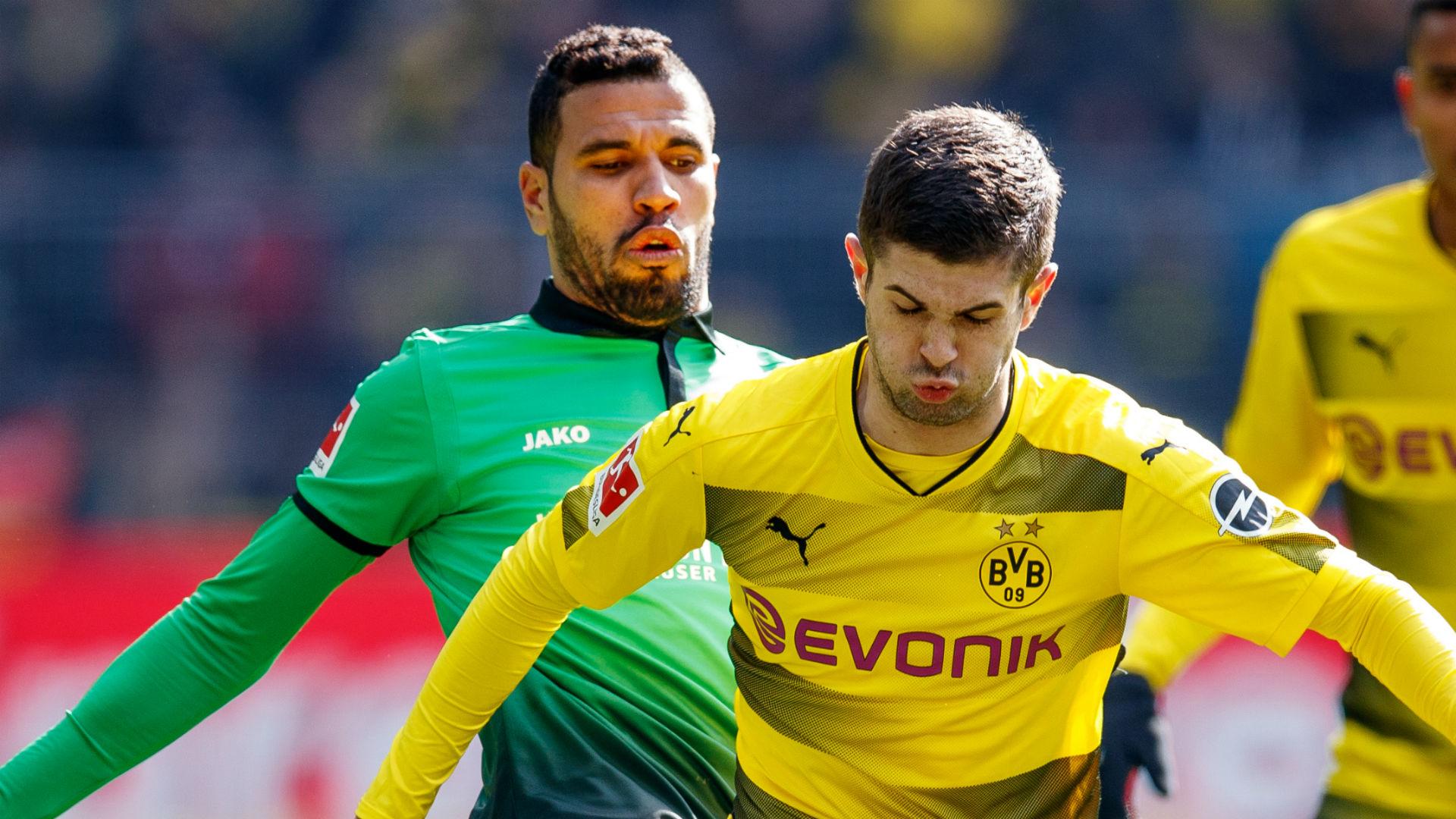 Christian Pulisic Jonathas Borussia Dortmund Hannover