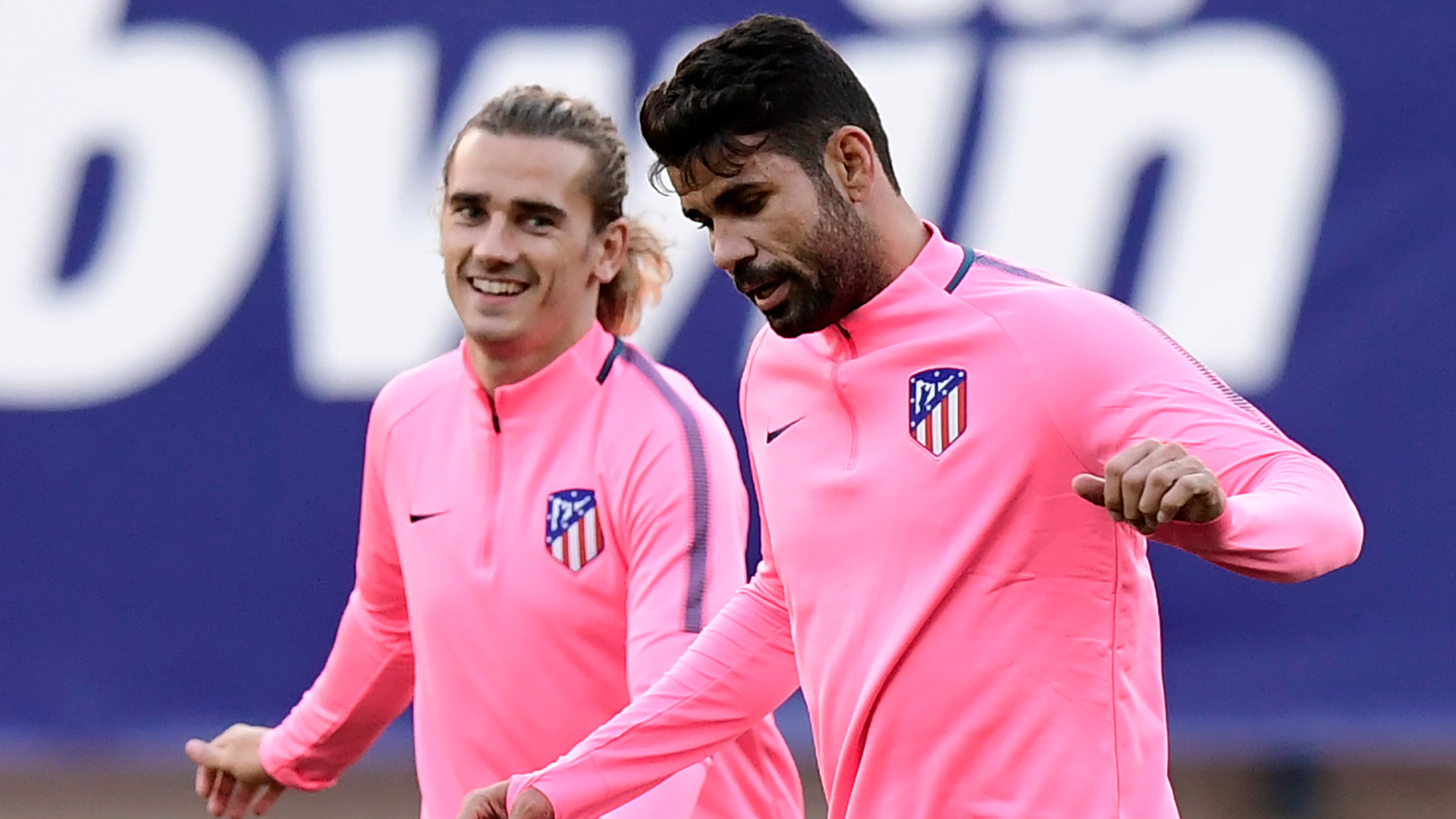 Diego Costa Antoine Griezmann Atletico Madrid