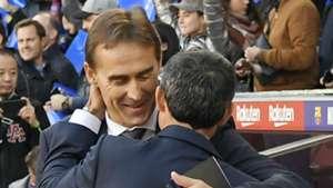 Julen Lopetegui Ernesto Valverde Real Madrid Barcelona