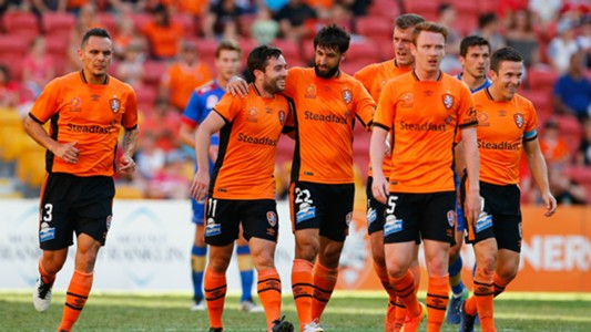 Tommy Oar Brisbane Roar v Newcastle Jets A-League 07012017