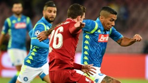 Allan Napoli Liverpool Champions League