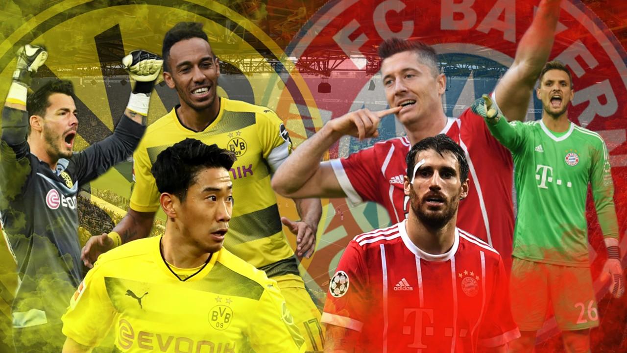 GFX Borussia Dortmund Bayern München