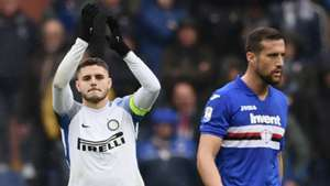 Mauro Icardi, Sampdoria vs Inter Milan