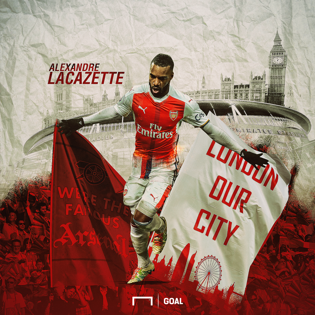 Alexandre Lacazette Arsenal GFX