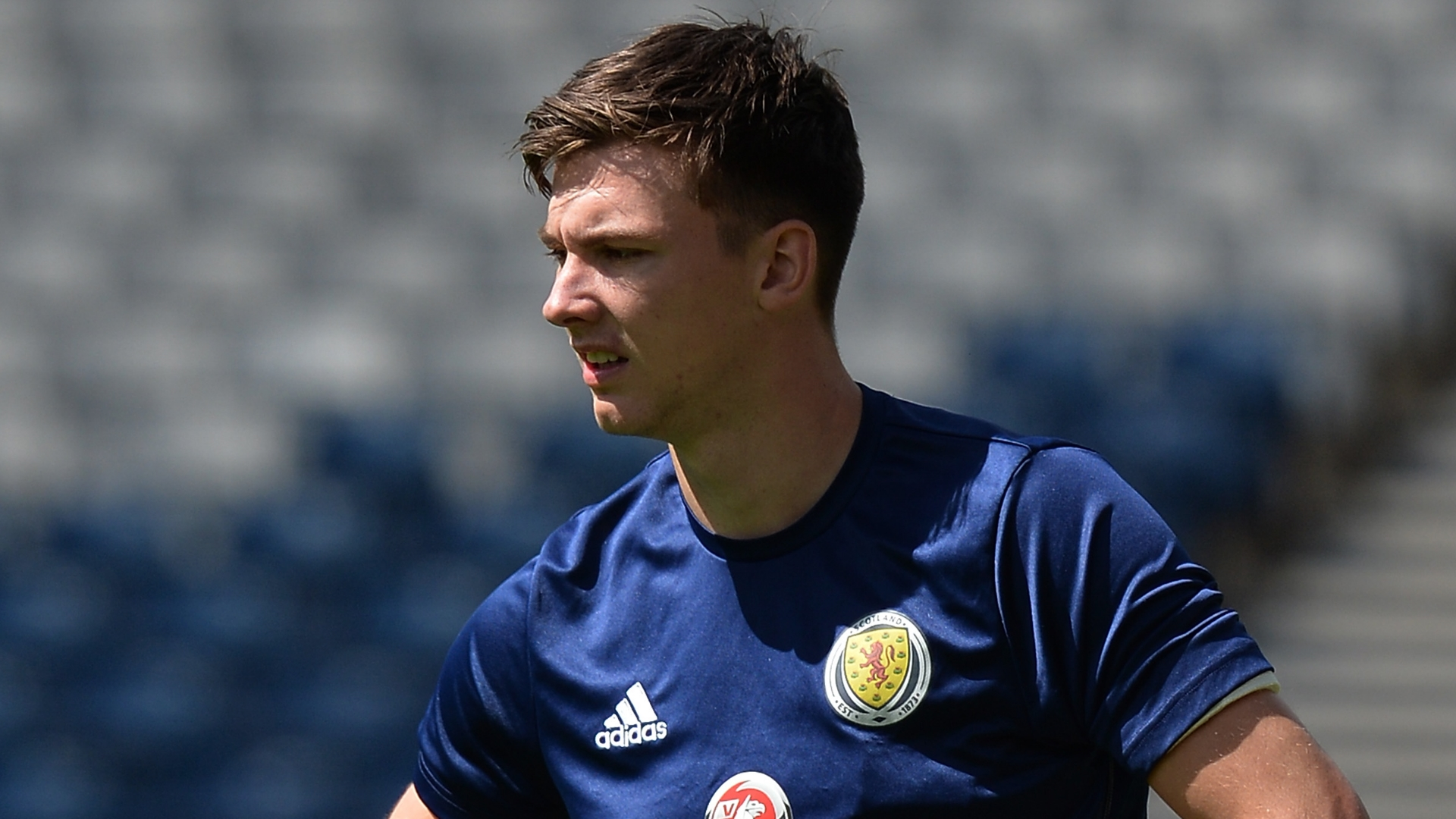 Kieran Tierney, Scotland training