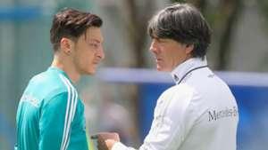 Mesut Ozil Joachim Low Germany