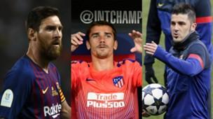 collage La Liga Topscorer