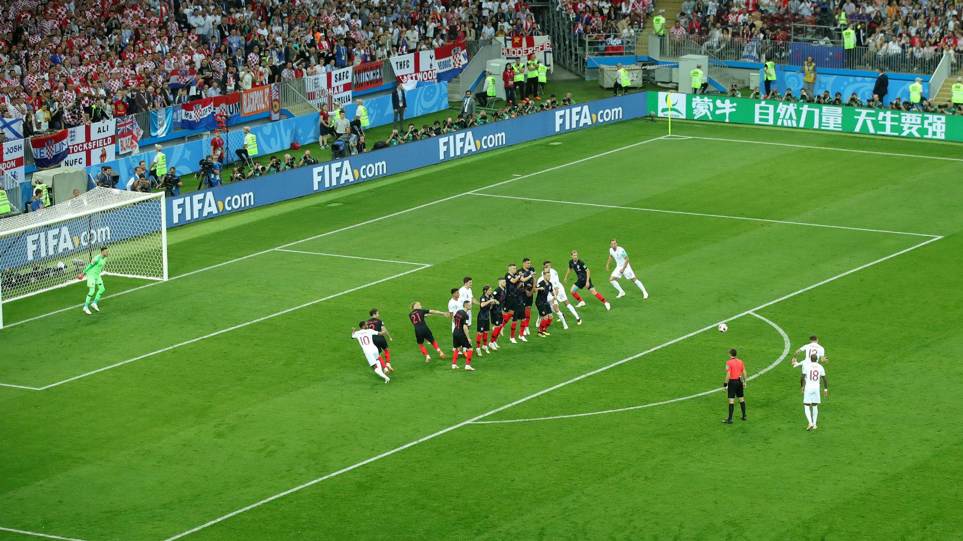 croatia england - kieron tripper - world cup - 11072018