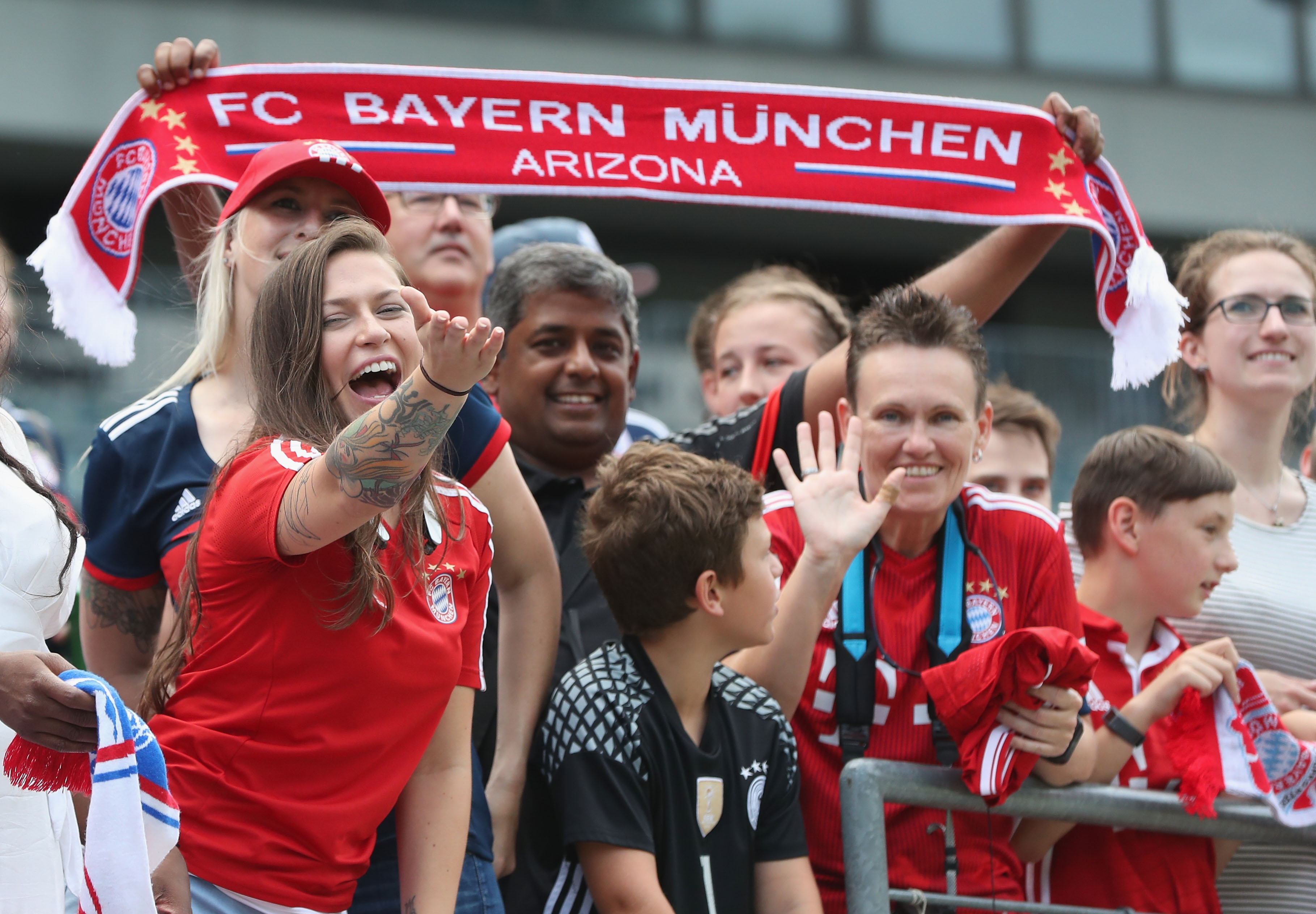 FC Bayern München fans USA Arizona