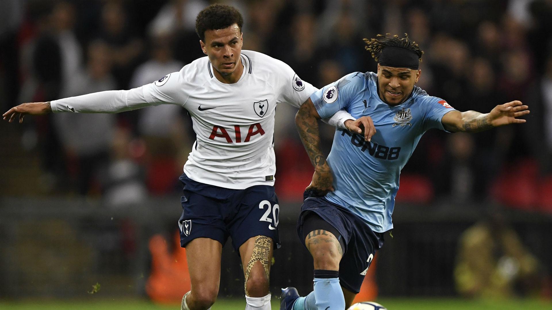 Dele Alli DeAndre Yedlin Tottenham Newcastle Premier League 2018