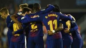 Barcelona celebrate