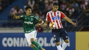 Teo Gutierrez Thiago Martins Junior Palmeiras Copa Libertadores 01032018