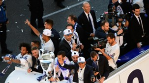 Real Madrid celebration bus
