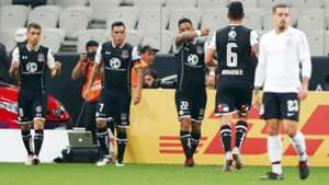 290818 Corinthians Colo Colo report Lucas Barrios goal
