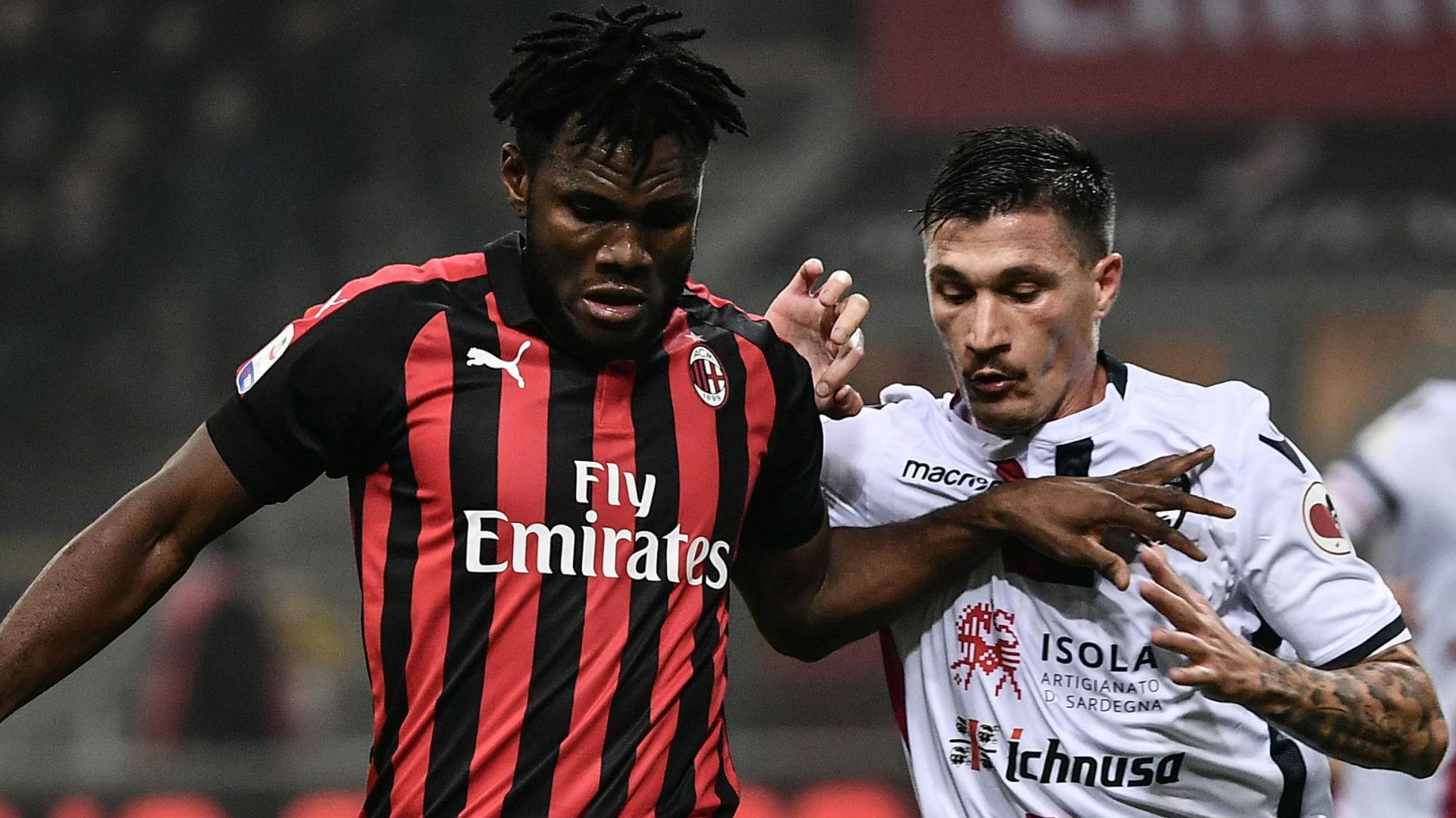 Franck Kessie Milan Cagliari Fabio Pisacane