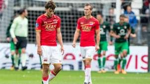 Joris van Overeem, AZ - Feyenoord, Eredivisie 10012017