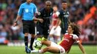 Fernandinho Manchester City Arsenal Premier League 12 08 2018