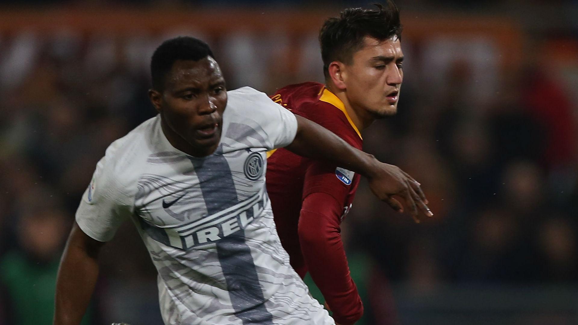 Asamoah Cengiz Under Roma Inter Serie A