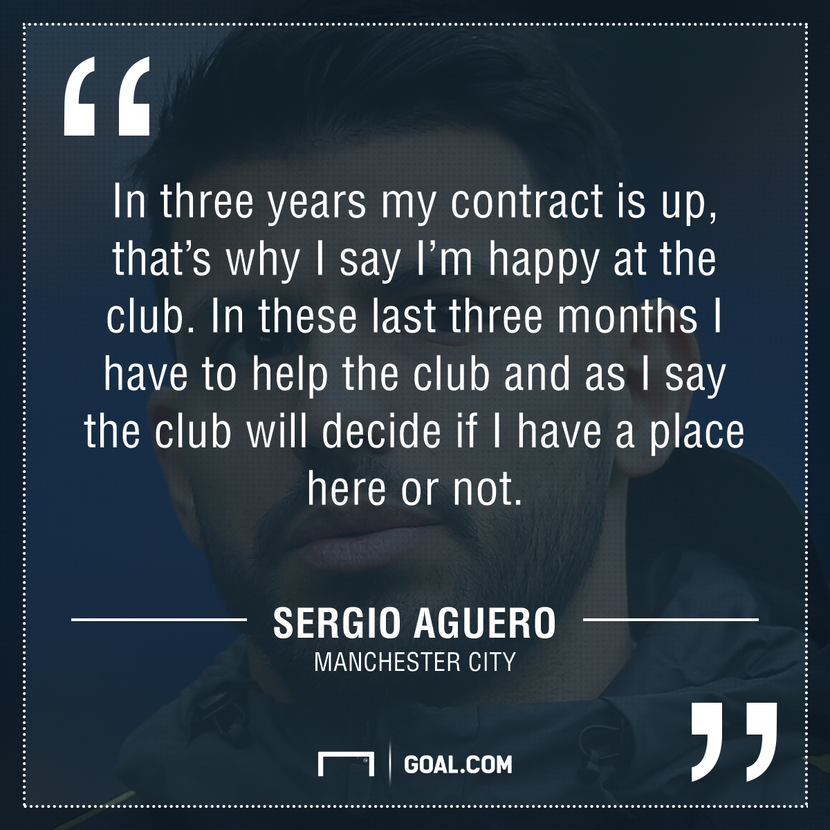 Aguero quote GFX