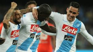 Koulibaly Insigne Callejon Napoli Fiorentina Serie A