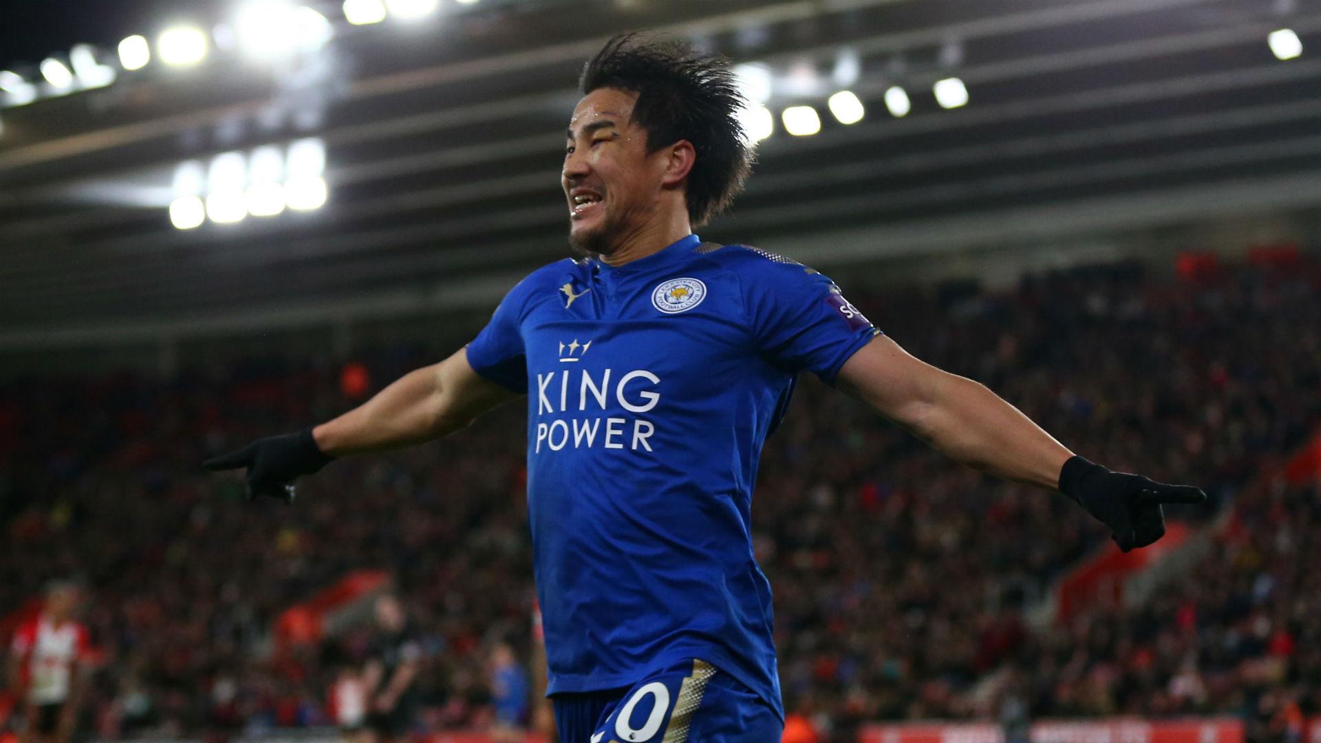 Shinji Okazaki Leicester City Premier League