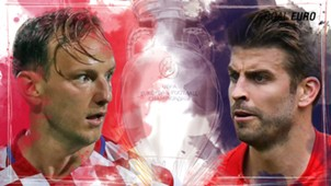GFX EURO16 Croatia Spain Euro 2016