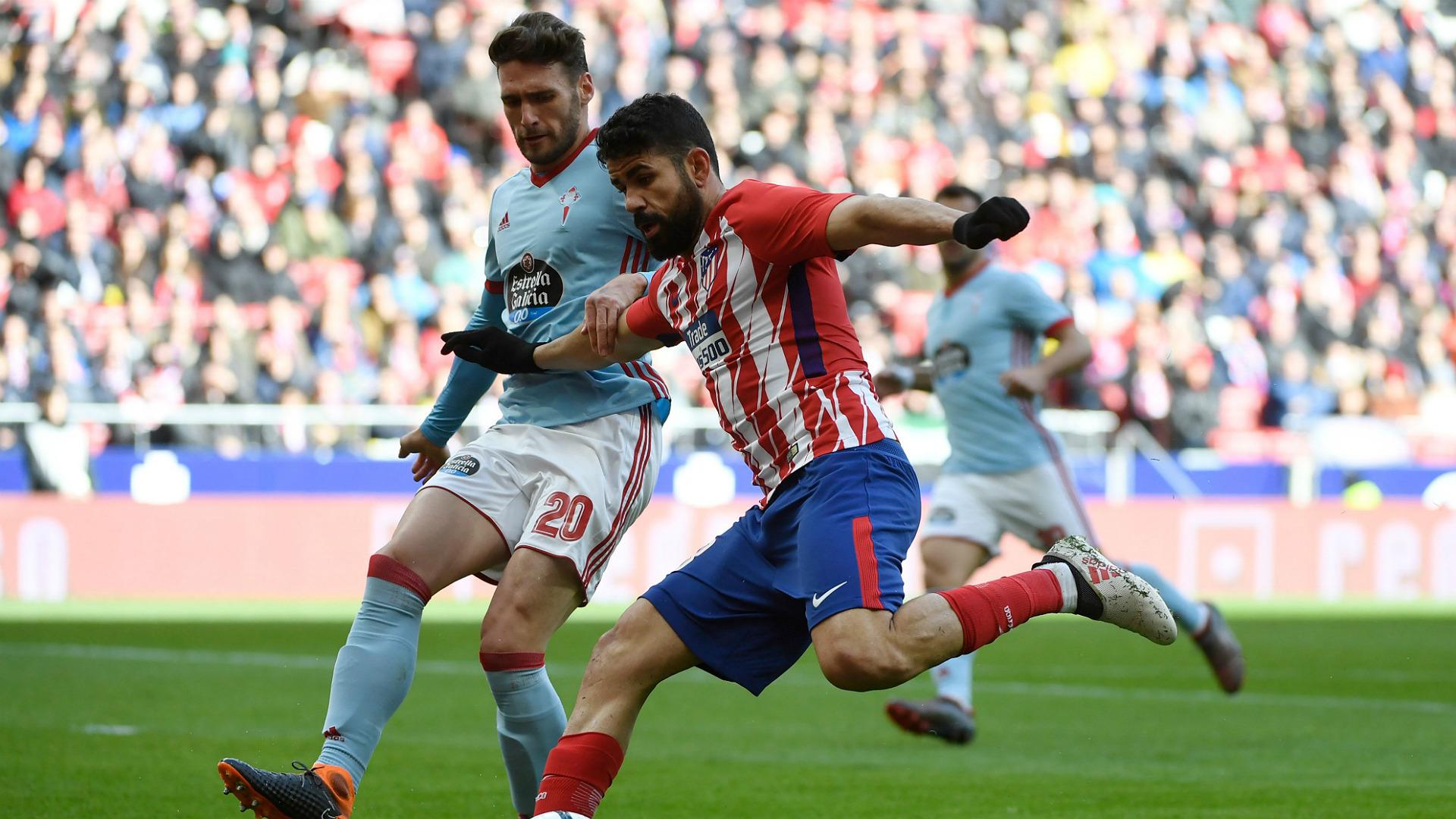 Sergi Gomez Atletico Madrid Celta Vigo La Liga