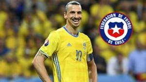 Zlatan Ibrahimovic 2016 Eurocopa Suecia v/s Bélgica