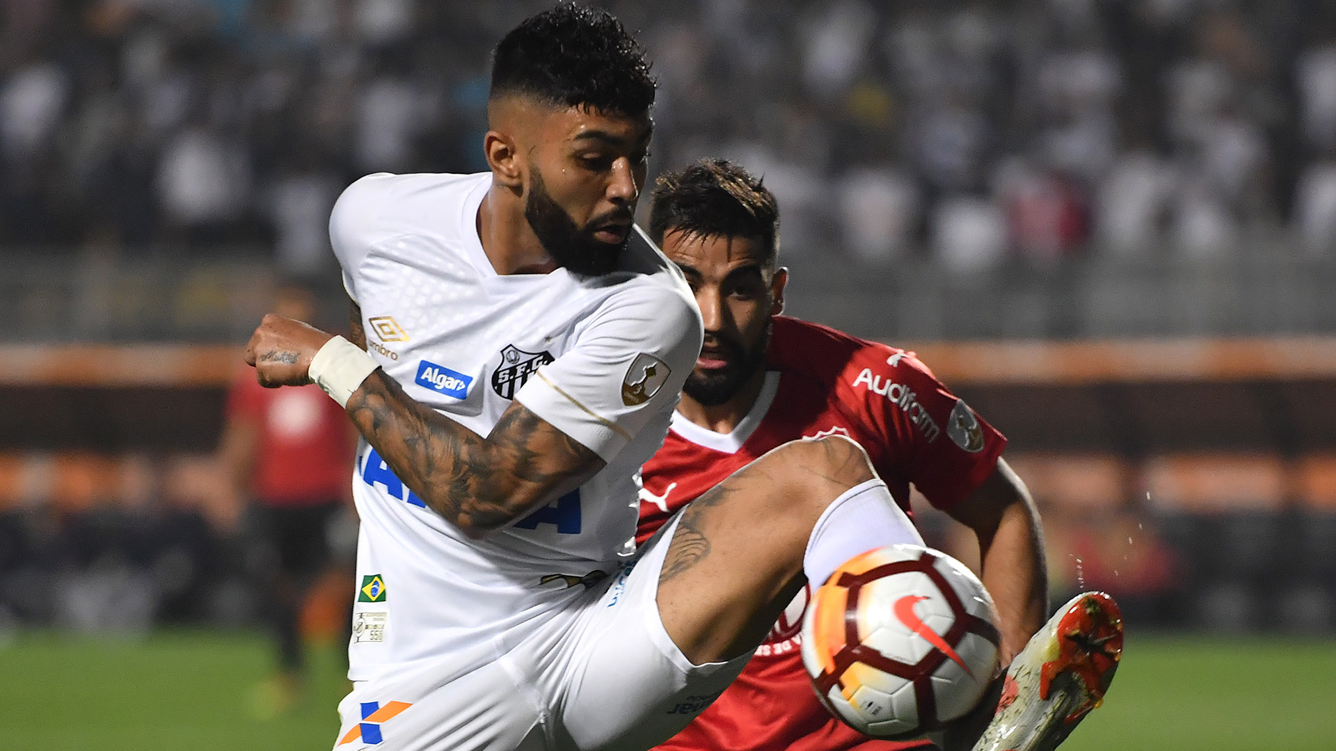 Gabigol Emanuel Britez Santos Independiente Copa Libertadores 28082018