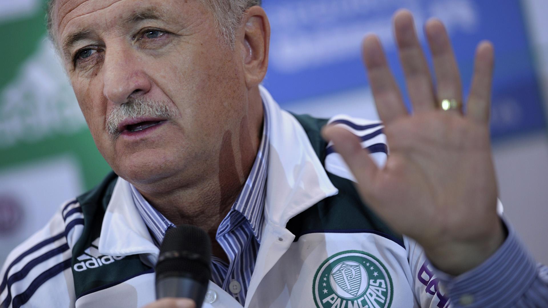 Luiz Scolari 2010 Palmeiras Felipao