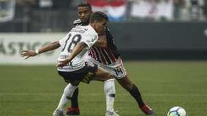 Pedrinho e Reinaldo - Corinthians x São Paulo - 10/11/2018