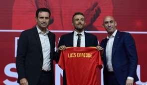 Luis Enrique Molina Rubiales Selección
