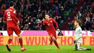 James Rodriguez Bayern Munich Bundesliga 2019