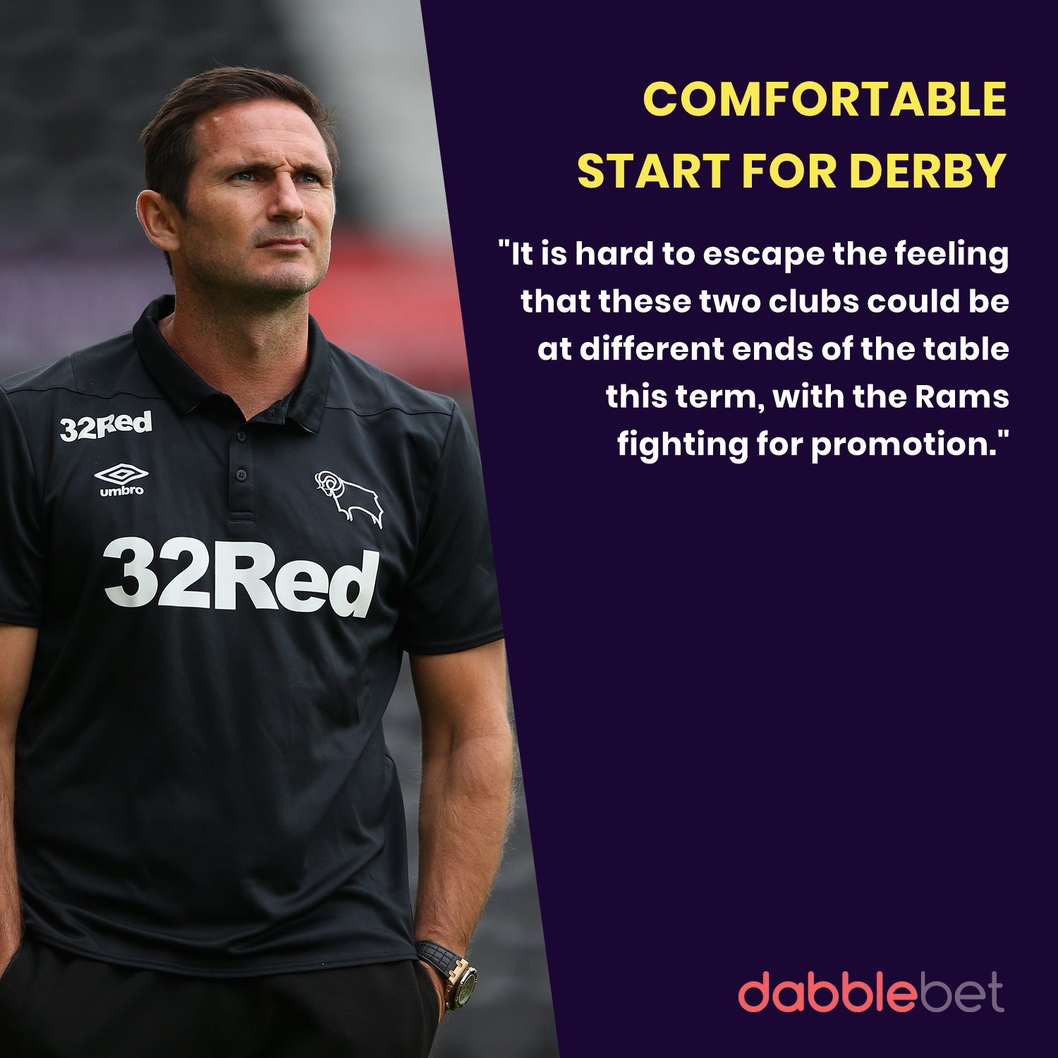 Reading Derby graphic