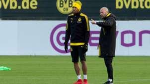 ONLY GERMANY Pierre Emerick Aubameyang Peter Bosz Borussia Dortmund