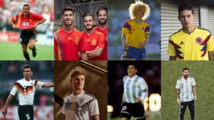 Retro & Berkelas, Adidas Luncurkan Jersey Piala Dunia 2018