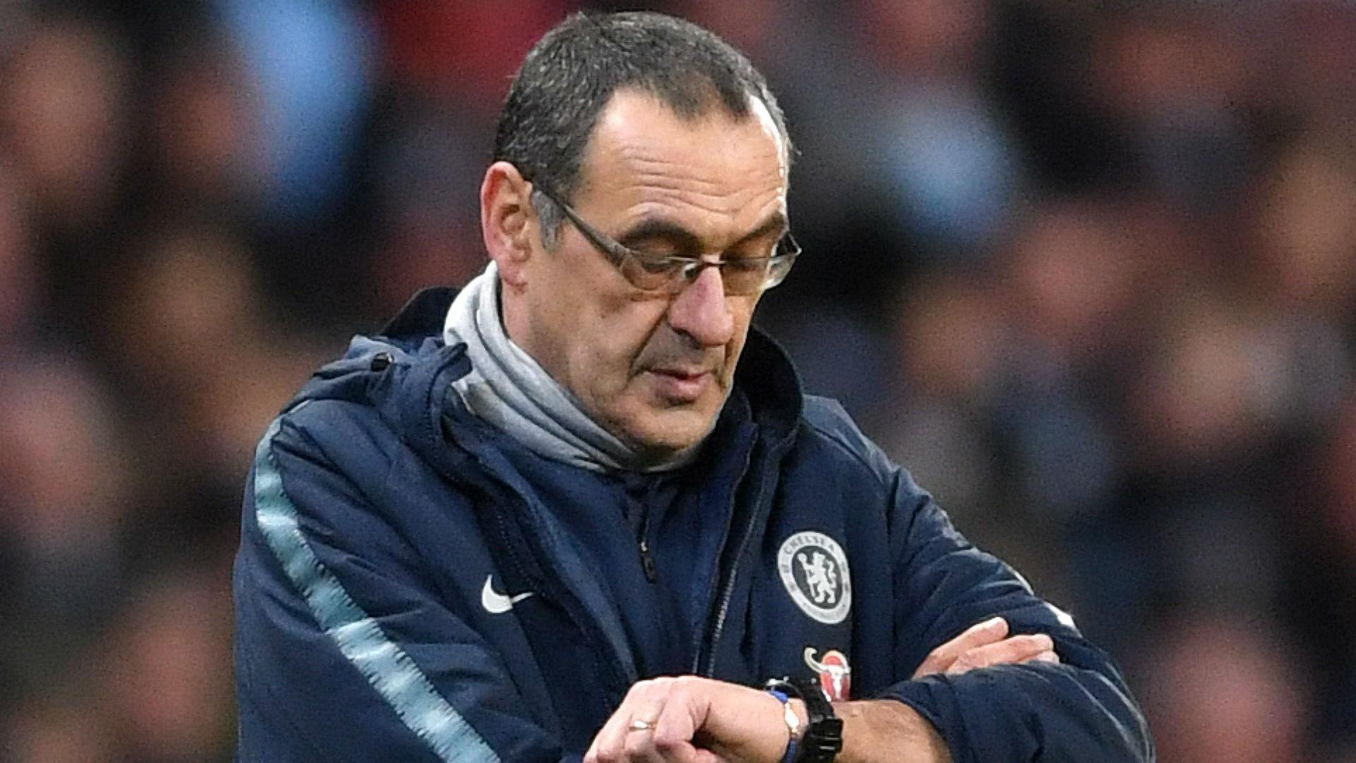 Maurizio Sarri Chelsea 2019
