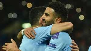Mahrez stars in Manchester City win over Shakhtar Donetsk