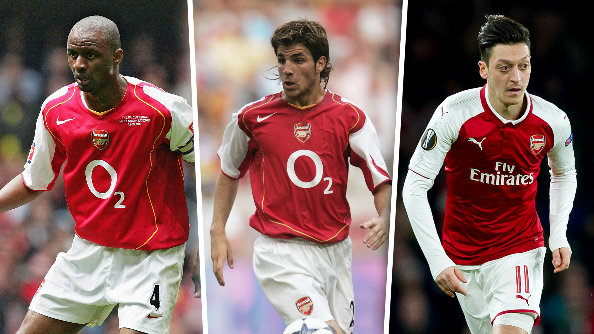 c90f1e467a1 From Vieira to Ozil  Arsene Wenger s 15 best signings for Arsenal ...