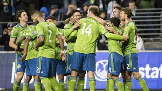 Clint Dempsey Chad Marshall Seattle Sounders CCL