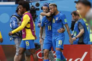 Neymar Coutinho Brazil vs Costa Rica World Cup