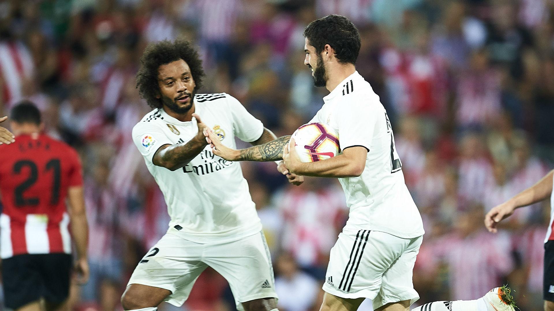Isco Marcelo Real Madrid La Liga