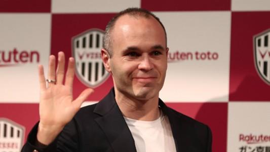 Andres Iniesta Vissel Kobe