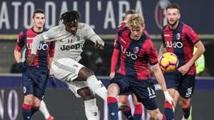 Moise Kean Bologna Juventus Coppa Italia