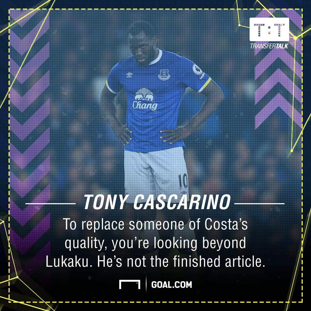 Romelu Lukaku Tony Cascarino Chelsea