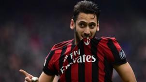 Hakan Calhanoglu Milan Chievo Serie A