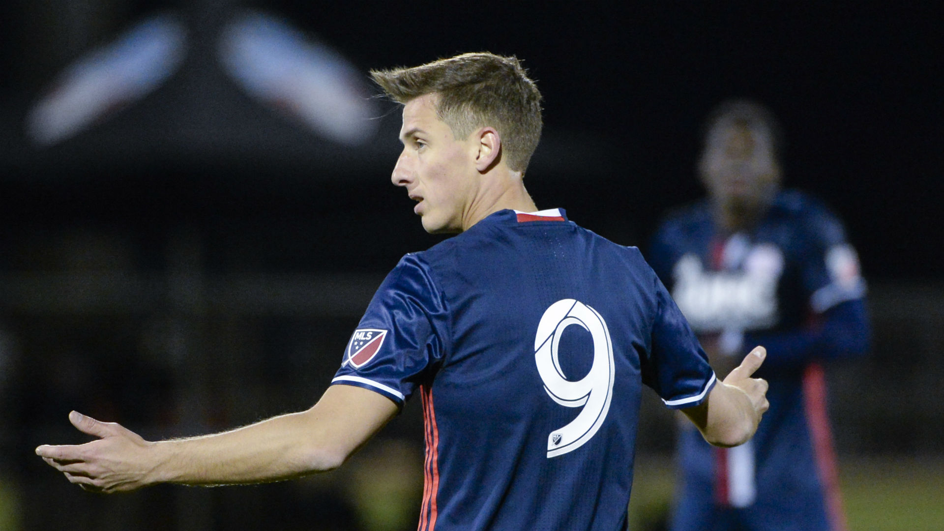 Krisztian Nemeth New England Revolution MLS