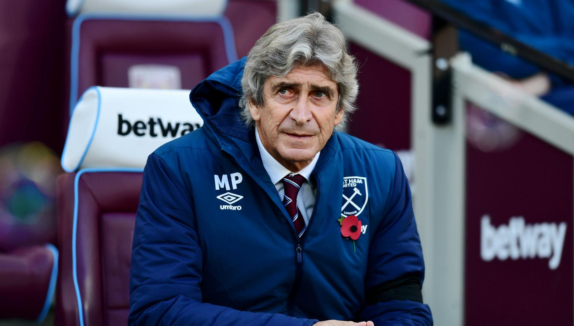 031118 West Ham Burnley Manuel Pellegrini